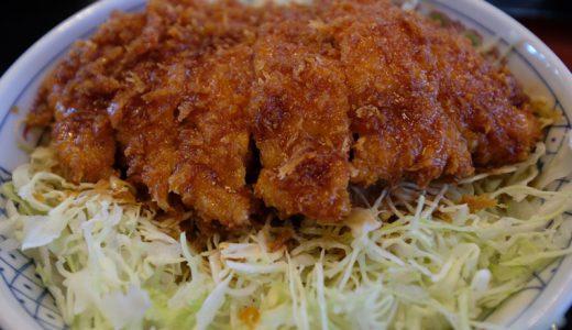 長野県駒ヶ根市「いな垣」の「ソースかつ丼 ロース」は茶そば屋さんが作る優しい味!