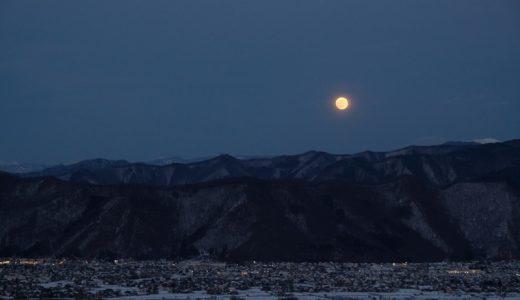 """芭蕉や広重も愛でた月!?長野県千曲市の""""月の名に立つ姨捨山""""で「皆既月食」が見たい!"""