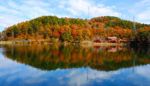 長野県麻績村・聖高原の紅葉「善光寺街道」の宿場として栄えた美しい高原の村
