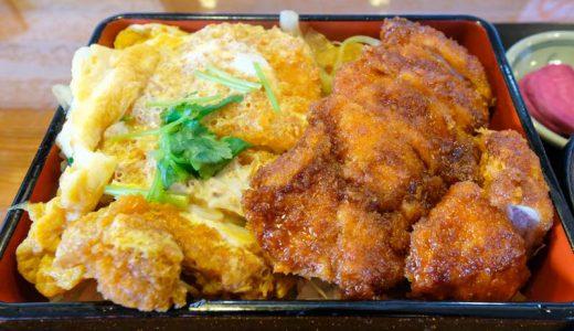 究極の選択「ソース or 卵とじ」の最適解!?長野県伊那市の信濃路で「ソース&卵とじカツ丼」